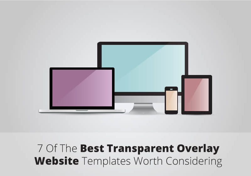 14 Best Transparent Overlay Website Templates Worth Considering