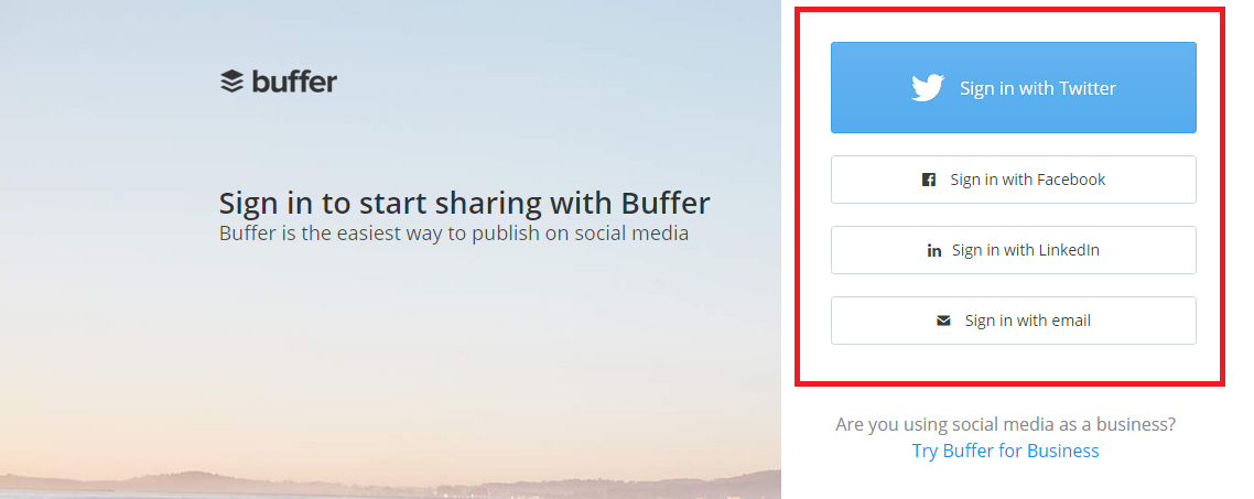How to use buffer step 1