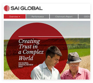 SAI Global Annual Report 2015