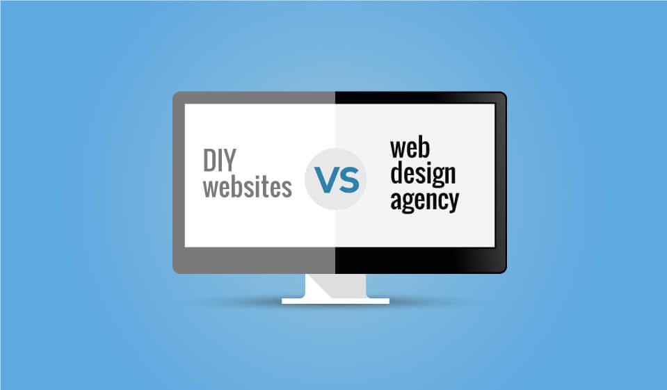 DIY websites Vs web design agency