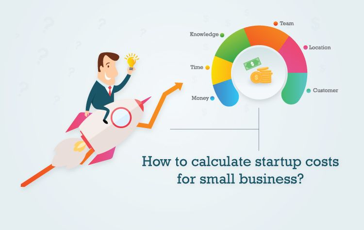 How to calculate startup costs for small business?